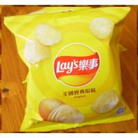 10元賣樂事洋芋片美國經典原味(24包一箱裝)