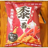 25元賣湖池屋黍一番勁辣唐辛子酥脆三角玉米酥(單包報價)