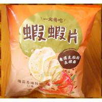 20元賣旺旺一定要吃蝦蝦片爆蒜相辣炒蝦口味-單包
