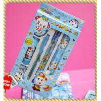 中型小白兔文具組禮盒(藍)