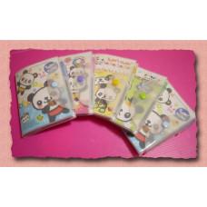 冰淇淋熊貓隨身攜帶型筆記本(內附主題袖珍筆)-單本報價