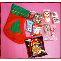哇,專門設計的聖誕襪裝聖誕糖果包(A款)