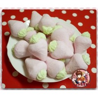 AA級義大利原裝進口寶格麗造型棉花糖900g包(草莓造型)