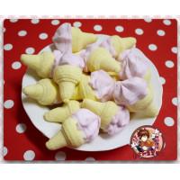 AA級義大利原裝進口寶格麗造型棉花糖900g包(冰淇淋造型)