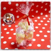 AA級義大利原裝進口寶格麗造型棉花糖4顆包(綜合造型)