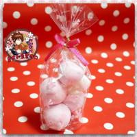 AA級義大利原裝進口寶格麗造型棉花糖4顆包(蘑菇造型)
