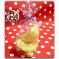 AA級義大利原裝進口寶格麗造型棉花糖4顆包(香蕉造型)