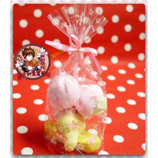 AA級義大利原裝進口寶格麗造型棉花糖4顆包(冰淇淋造型)