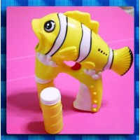 聲光小丑魚連續吹泡泡槍(特大款)