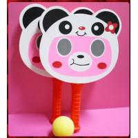 大型雙人海綿球拍(熊貓)