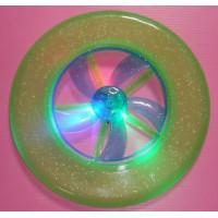 發光強力飛盤(內建方向穩定器)