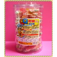 QQ甜心水果軟糖(營業罐)