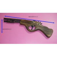 12連發步槍造型純木製橡皮筋手槍(超級改良版)