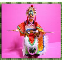 台灣民俗八家將布袋戲偶-冬大神
