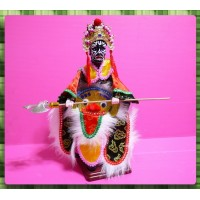 台灣民俗八家將布袋戲偶-范爺又稱二爺或八爺