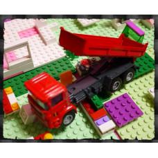 男人的收藏-超合金擬真工程車系列(加長型砂石車)