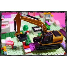 男人的收藏-超合金擬真工程車系列(標準型挖土機)