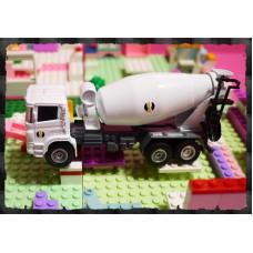 男人的收藏-超合金擬真工程車系列(水泥攪拌車)