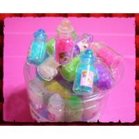 哇!『這是真的玻璃瓶』裝星星糖果(42瓶報價)一瓶一顏色