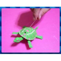 經典童玩再現-免電池的拉線牽龍跑-烏龜爺爺