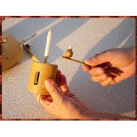 絕版童玩-嗡嗡叫手拉式陀螺(中顆)