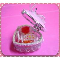 婚禮小物專用粉彩愛心珠寶盒(已放入糖果)