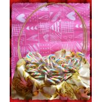 彩虹漩渦棒棒糖台灣製100支裝含禮籃