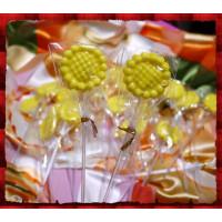 向日葵女神棒棒糖(單隻報價)-台灣製造
