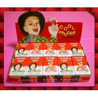 很古早味的人頭盒水果長條涼喉糖20小盒裝