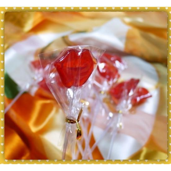 性感紅唇棒棒糖蔓越莓口味(單隻報價)