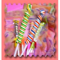 經典彩色螺旋棒棒糖(單隻)台灣製