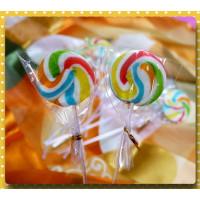 經典彩虹漩渦棒棒糖綜合水果口味台灣製(單隻報價)