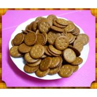 黑糖口味-小圓餅也就是俗稱的鹹餅夾心酥餅乾(包麥芽膏用)一台斤裝