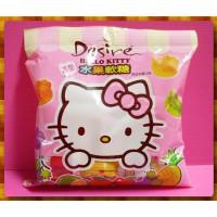 公司貨-Hello Kitty造型QQ水果軟糖(單包報價)