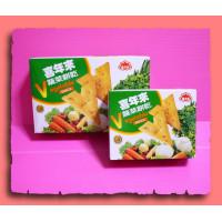 老牌-喜年來蔬菜餅乾V型大包盒裝