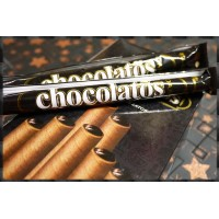 黑的霸氣的雪茄巧克力威化捲心酥單隻裝-奶素