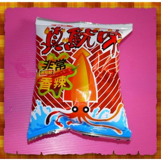 10元賣華元真魷味香辣口味(20包一箱裝)