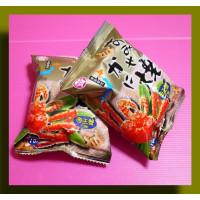 10元賣帝王蟹烘烤餅乾真空包30g重(20包一箱裝)