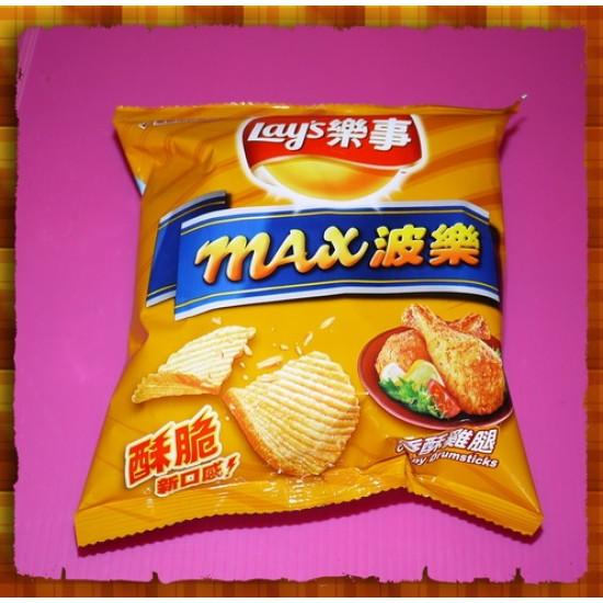 10元賣樂事洋芋片香酥雞腿口味(24包一箱裝)