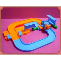 大型拼圖式電動火車軌道組(D款)-可以擴充更大範圍