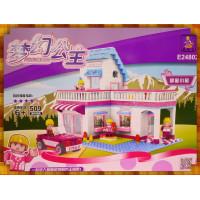 夢幻公主的甜蜜小屋渡假別墅積木組(509片裝)