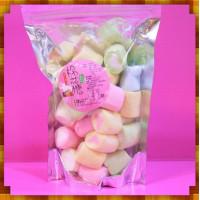 A級3公分彩色圓柱心中心棉花糖小包裝