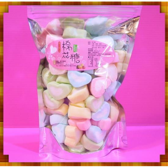 A級3公分彩色愛心棉花糖小包裝