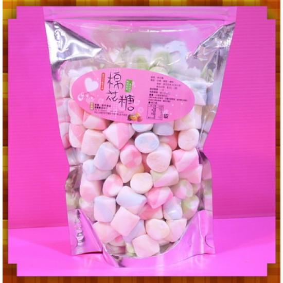 A級2公分彩色雙色圓柱棉花糖小包裝