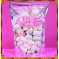A級3公分彩色螺旋花捲棉花糖小包裝