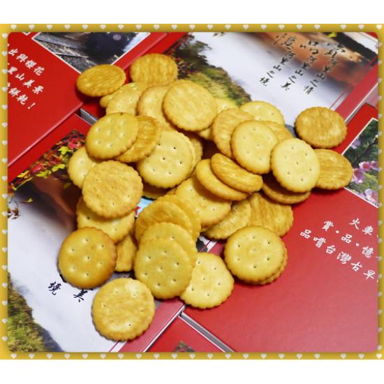阿里山美景裝了古早味小圓餅烤餅乾80g全台灣製-最紅文創商品