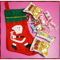 哇,專門設計的聖誕襪裝聖誕糖果包(B款)