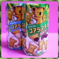 樂天小熊餅巧克力口味(正式代理公司貨)