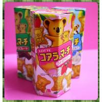 樂天小熊餅草莓口味(正式代理公司貨)