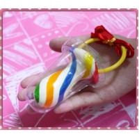 超大顆彩色奶嘴糖(豪華緞帶一個一包裝)